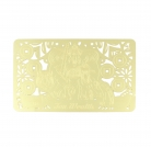 Increasing Your Wealth Luck Gold Talisman Card