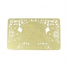 Wealth Pi Yao Gold Talisman Card