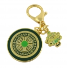 Victory Banner Success Amulet Keychain