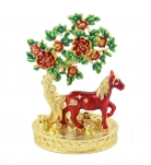 Bejeweled Peach Blossom - Horse