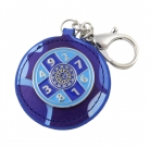 Blue Sum of Ten Amulet Keychain