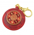 Red Sum of Ten Amulet Keychain