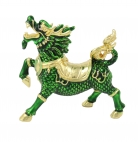 Green Chi Lin Dragon Horse