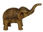 Bronze Trunk Up Elephant Statues