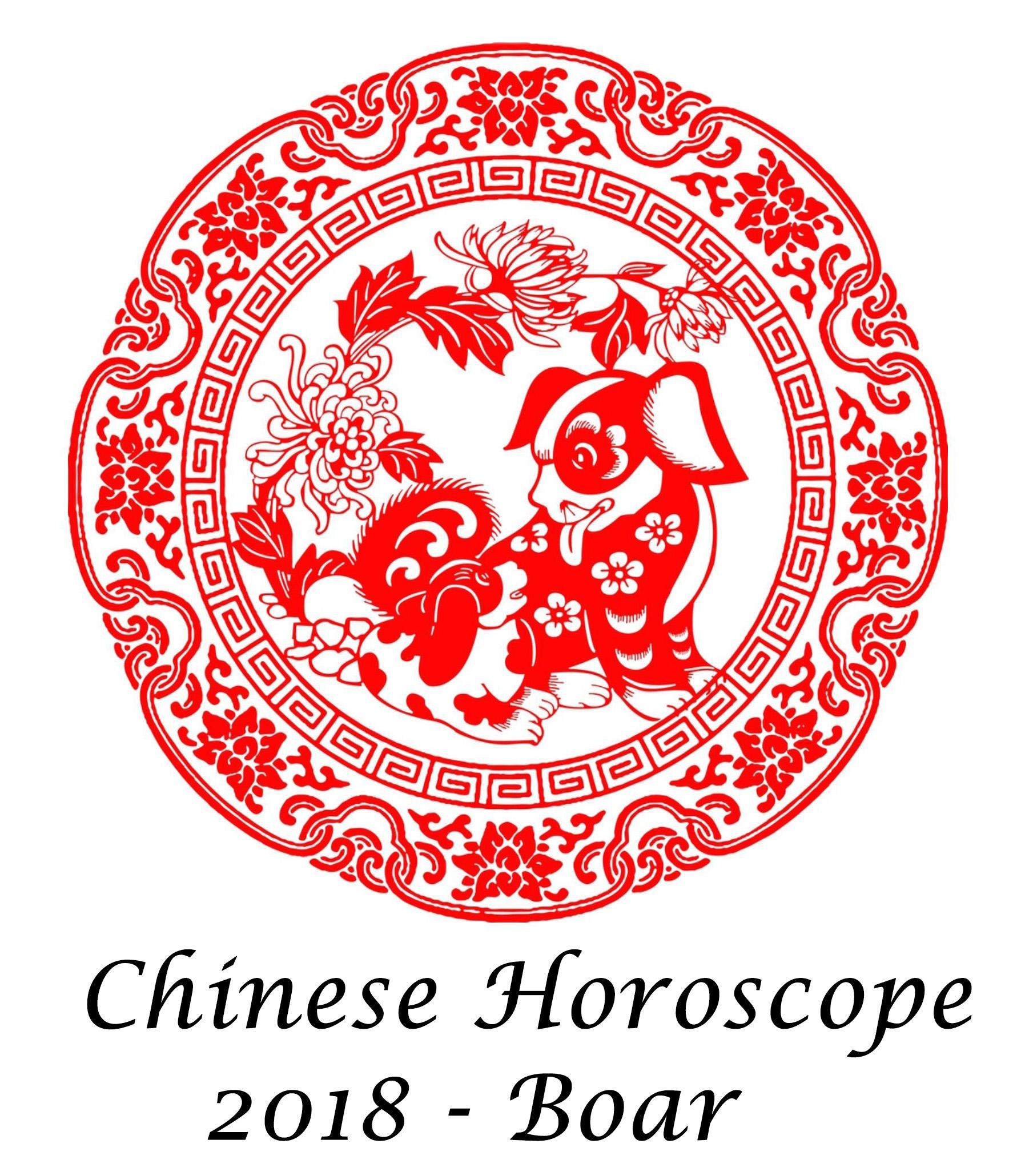 Chinese Horoscope Boar 2018