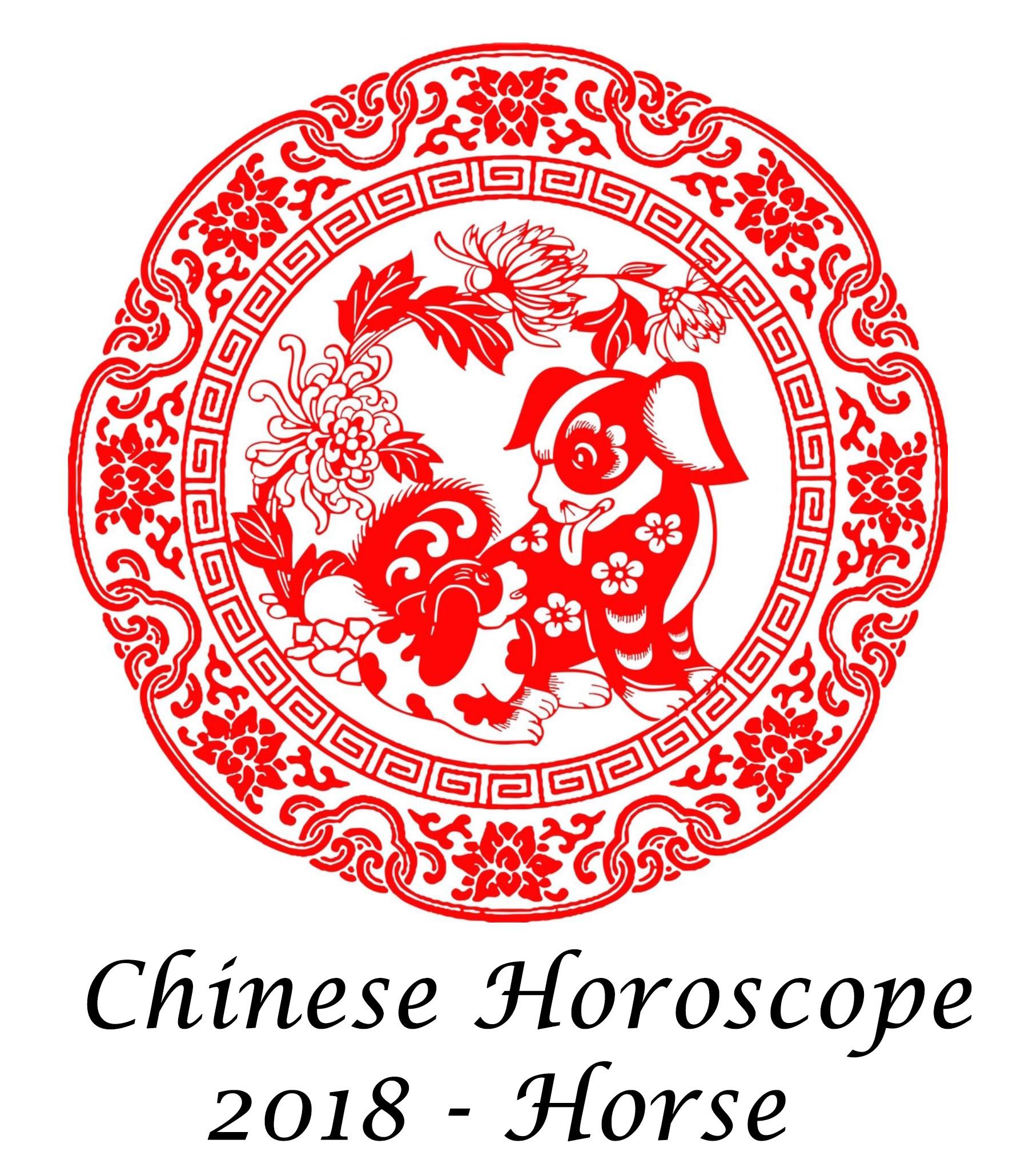 Chinese Horoscope Horse 2018
