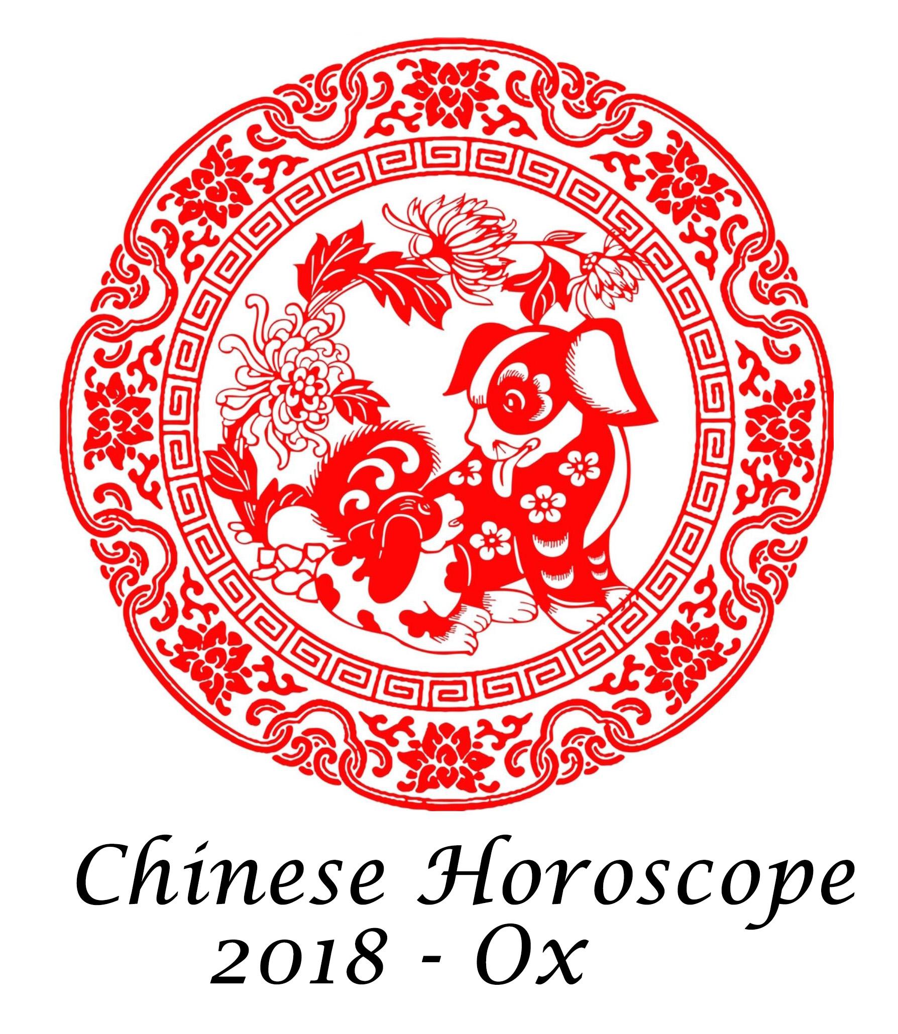 Chinese Horoscope Ox 2018