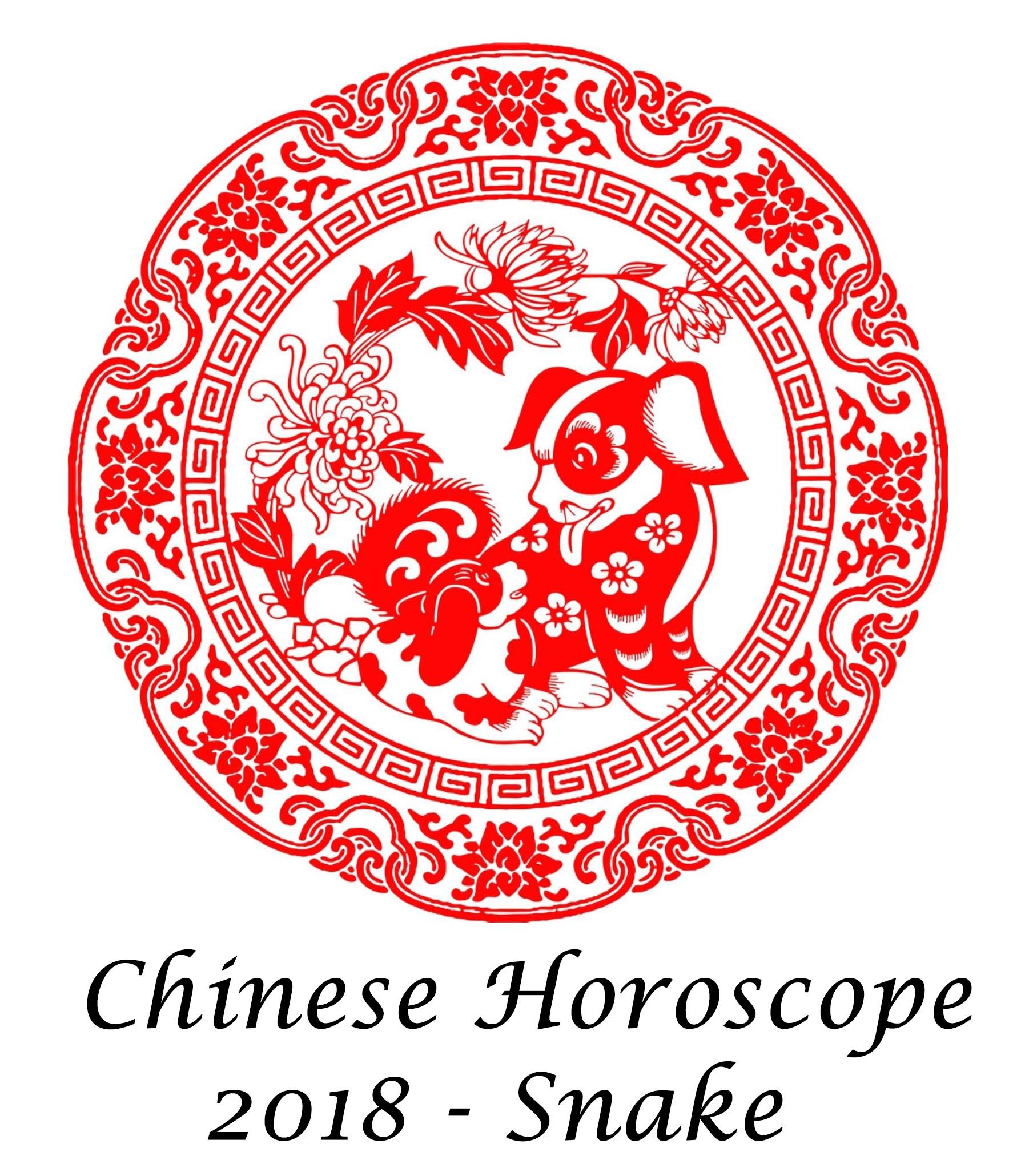 Chinese Horoscope Snake 2018