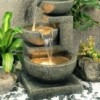 Indoor Fountain or Outdoor Fountain with Pump and ...